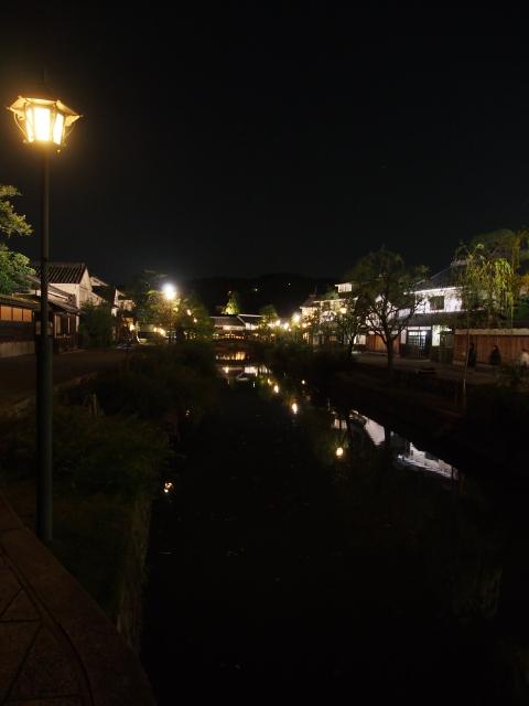 夕暮れの倉敷川